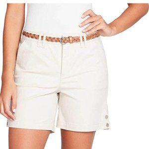 NEW Gloria Vanderbilt Women's Violet Shorts 10